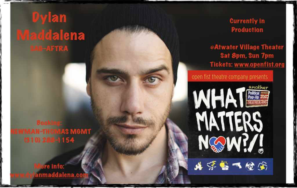Dylan Maddalena in 'What Matters Now?/!'