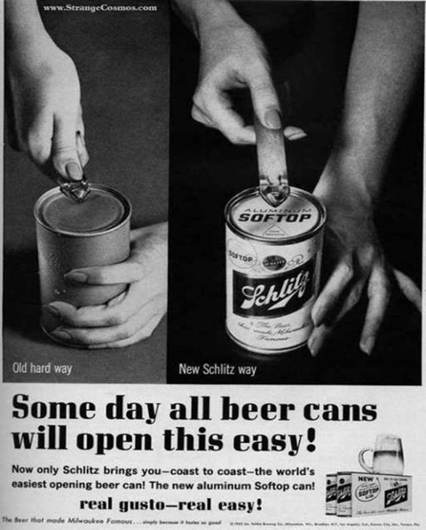 Easy Open Beer Cans